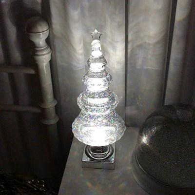 Glitter Tree Lamp