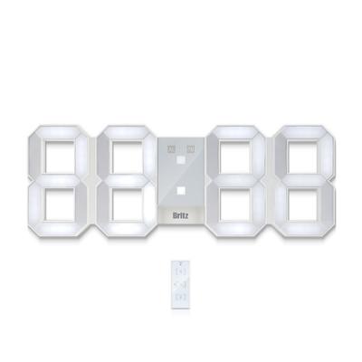 브리츠 3D LED 조명 벽시계 BZ-EW524L