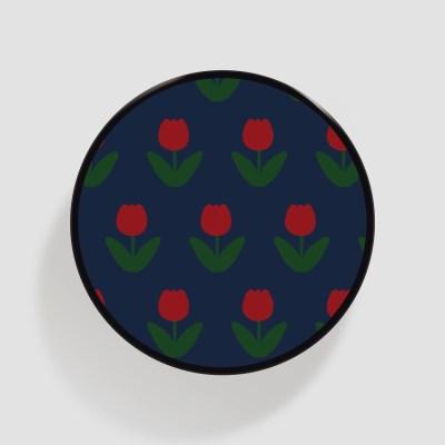 (플라톡) 빨간 튤립 패턴