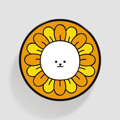 (플라톡) 노란 꽃 퉁글이