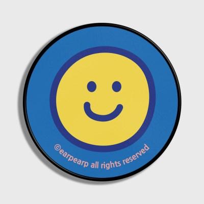 [어프어프] 스마트톡 Smile pattern-Light blue