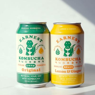 [어니스트콤부차] 오리지널/레몬진저 1세트 (6개입)_(748266)