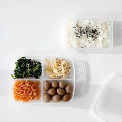 ZAKKA 냉장,냉동 소분 밀폐용기 3종 JAPAN