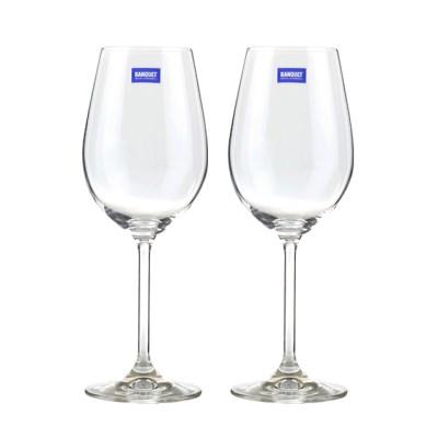 체코 반체트 디거스테이션 화이트와인잔컵(350ml)2p