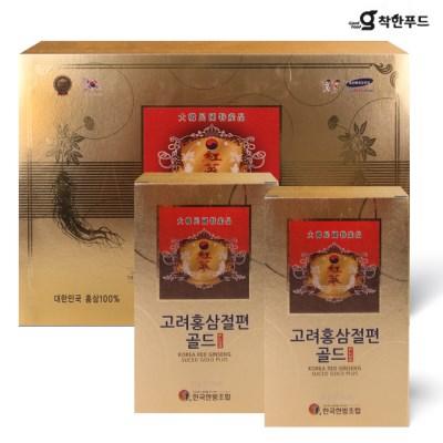 [착한푸드] 고려 홍삼 절편골드 1박스(10갑)