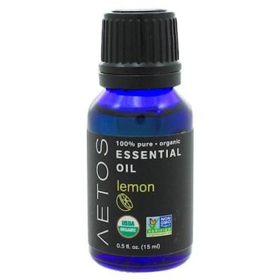 [세븐허브] Aetos 유기농 레몬 에센셜 오일2+1개