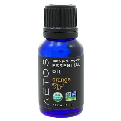 [세븐허브] Aetos 유기농 오렌지 에센셜 오일 2+1개