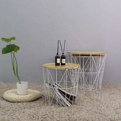 지니 사이드 테이블(White)_(1059081)