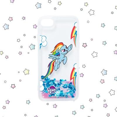 [MY LITTLE PONY X ALMOST BLUE] RAINBOW DASH GLITTER CASE