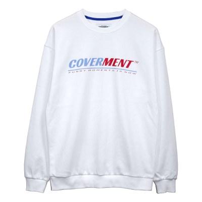 Big Logo Print Sweat shirts_White
