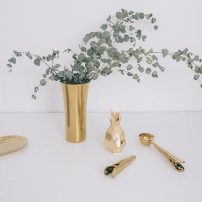 골드 화병, 인테리어 꽃병 꽃화병