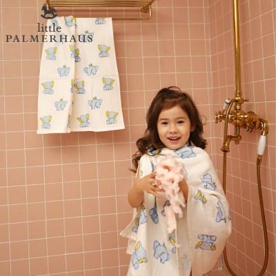 토토리_엘리펀트 양면 아기목욕타올 1장 신생아목욕타올 블랭킷