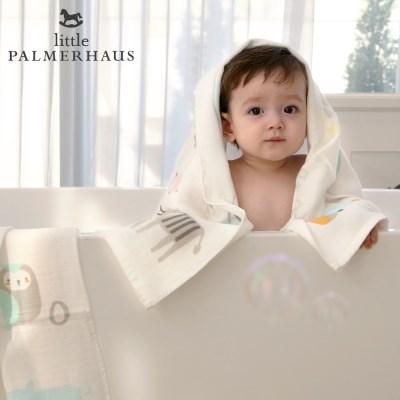 토토리_알파벳 양면 아기목욕타올 1장 속싸개 거즈수건