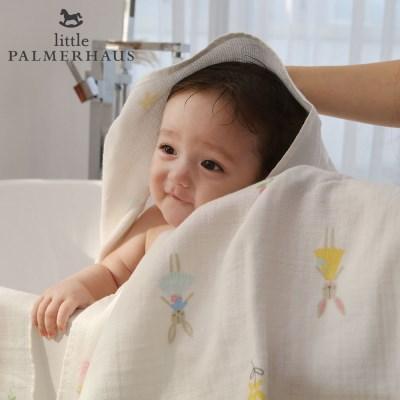 토토리_레빗돌 양면 아기목욕타올 1장 신생아목욕수건 블랭킷