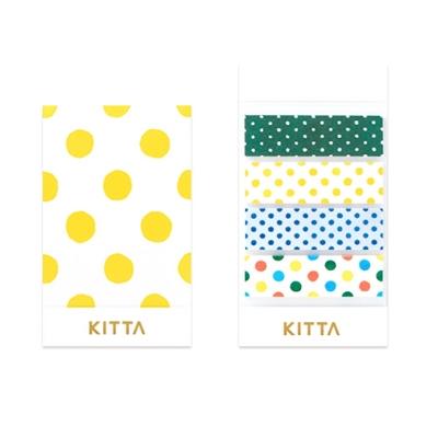 [KITTA] 포켓형 마스킹 테이프_KIT003 도트