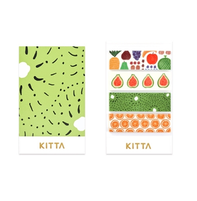 [KITTA] 포켓형 마스킹 테이프_KIT025 과일