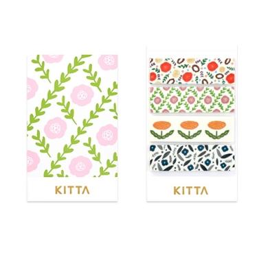 [KITTA] 포켓형 마스킹 테이프_KIT027 꽃3