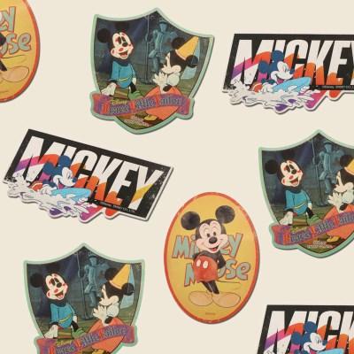 미키마우스 시리즈 트래블스티커 세트13