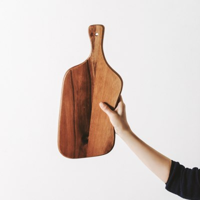 [모노뜨] 라우드 아카시아 서빙보드 43cm (비정형)