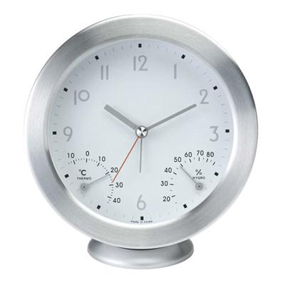 무소음 탁상 겸용 시계 온습도계