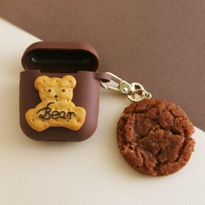 쿠키 에어팟 케이스 키링