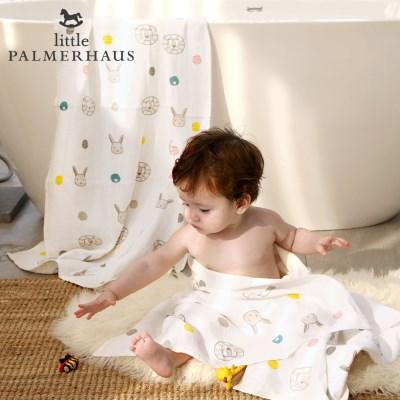 테리파머 토토리_라이언&레빗 양면 아기목욕타올 1장 속싸개