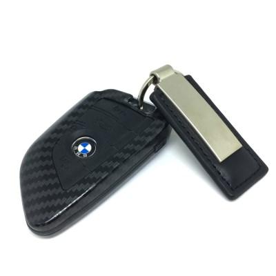 식스비 BMW 카본 스마트키 케이스 자동차 키홀더_(2050897)