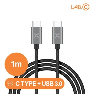 랩씨 C to C 케이블 3.0 USB 고속충전 C타입 1m_(2931067)