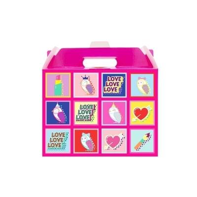 어린이화장품 플로릿 핑크 포장상자_선물상자_선물포장