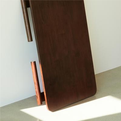 아크 폴딩 테이블 -다크브라운 [라지]