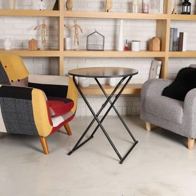 원형 사이드테이블/보조테이블/간이/소파테이블/책상