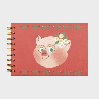 Piggy with Flower SKETCHBOOK