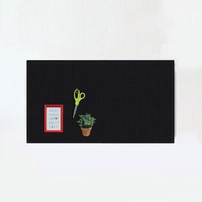 에코DIY 인테리어 타공판 400X600 블랙