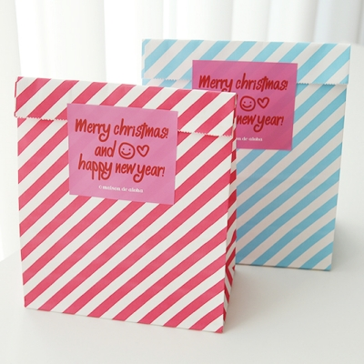 Stripe Paper Bag - 2size