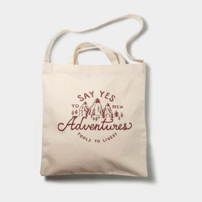 Tools to Liveby Tote (adventures) _ Limited Edition
