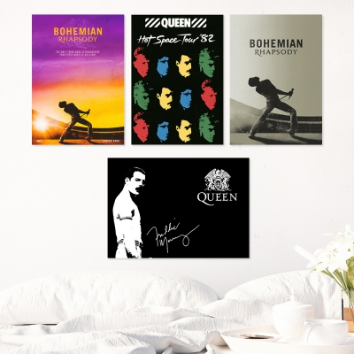 Queen 보헤미안 랩소디 포스터 8종