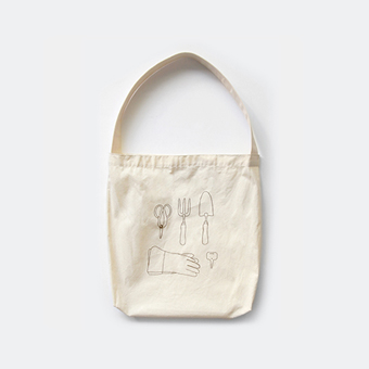 FLASK city gardener bag B_brown