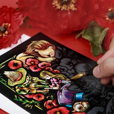 동화 스크래치 엽서_Fairy Tale Scratch Postcard