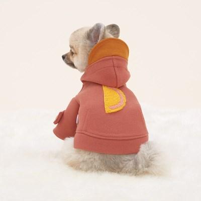 반달펫 러브덕 코트 (rose)