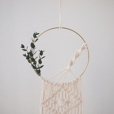 BOTANICAL DREAM CATCHER