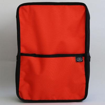 SCHOOL BAG(RED ORANGE)