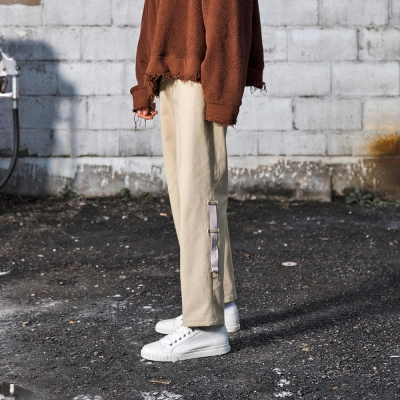 UNION CHINO PANTS - BEIGE_(1082163)