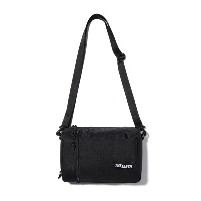 CORDURA 2WAY MINI CROSS BAG - BLACK_(1145299)