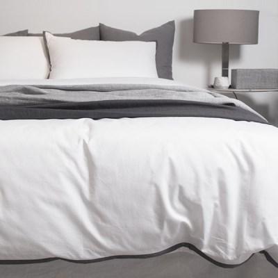 Dark Lining White Bedding Set _K