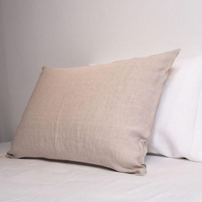 Premium Soft Touch Linen Pillowcase_natural