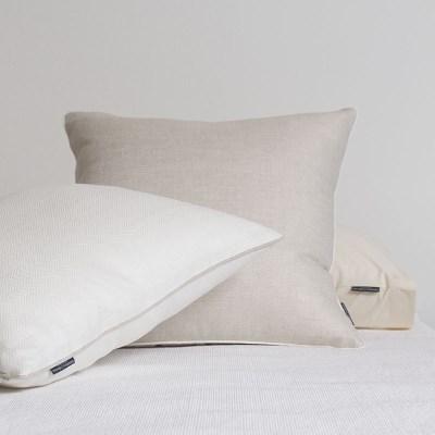 Herringbone Linen Cushion