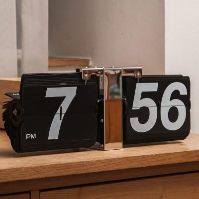 오리엔트 OT703FB 메탈 벽탁상겸용 대형플립시계 OT703