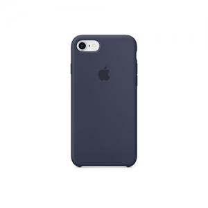 iPhone 8 & 7 실리콘 케이스 - 미드나이트 블루 [MQGM2FE/A]