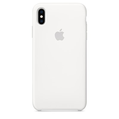 iPhone XS Max 실리콘 케이스 화이트 [RMWF2FE/A]