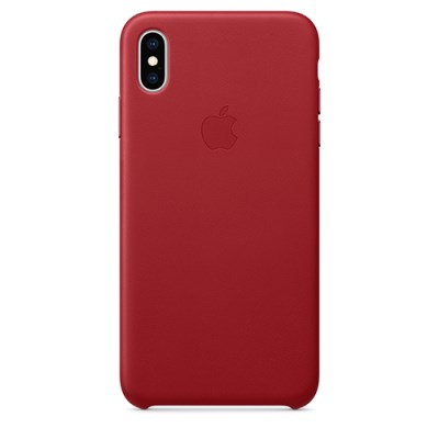 iPhone XS Max 가죽 케이스 - (PRODUCT)RED [MRWQ2FE/A]